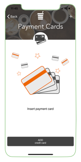 Adding payment card